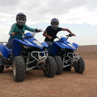 Photo Demi-journée en quad dans l'Atlas et le désert d'Agafay