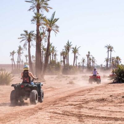 Photo Excursion en quad dans le désert de Marrakech