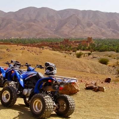 Photo Marrakech: balade en chameau, quad et spa