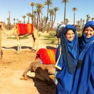 Photo Marrakech: promenade en dromadaire et spa traditionnel