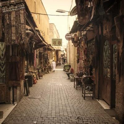 Photo Marrakech: visite avec guide local